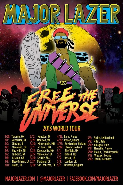 Major Lazer Tour